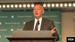 哈德遜研究所中國戰略中心主任白邦瑞(美國之音鍾辰芳拍攝)