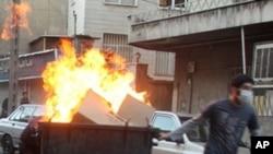 تظاهرات وسیع در شهرهای ایران