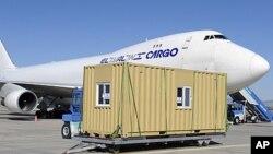 各國救援物資抵達土耳其。