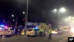 Britain City Explosion Leicester England Feb 25, 2018