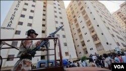 کراچی فائرنگ