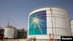 Fasilitas produksi minyak Aramco di Empty Quarter, Arab Saudi (foto: ilustrasi).