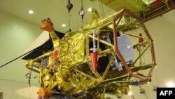 """""""Fobos-Grunt"""" raketasi uchirilishidan oldin Boyqo'ng'ir kosmodromida. 2011-yil noyabr."""