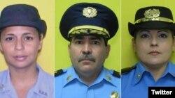 Policías puertorriqueños muertos por colega: agente Rosario Hernández de Hoyos, comandanteFrank Román, teniente Luz Soto Segarra. Dec. 28, 2015