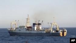 Imagem de arquivo de um navio semelhante ao Dalniy Vostok