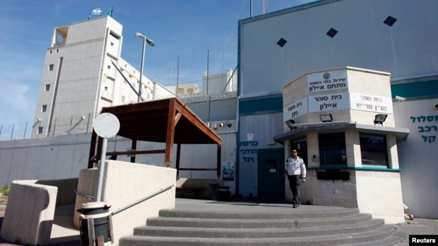 Israel's high-security Ayalon prison, where 'Prisoner X' Ben Zygier is alleged to have died, near Tel Aviv, Feb. 13, 2013.
