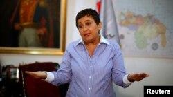 La presidenta del CNE Tibisay Lucena informó que candidatos podrán postularse entre el 22 y el 23 abril.