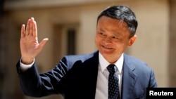 资料照片-阿里巴巴集团董事局主席马云(2019年5月15日)
