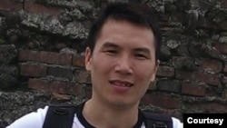Nhà hoạt động Đỗ Nam Trung. Photo Nguyen Thi Anh Tuyet