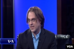 Robert Fanney, climate change blogger, speaks on Hashtag VOA, Jan. 5, 2016