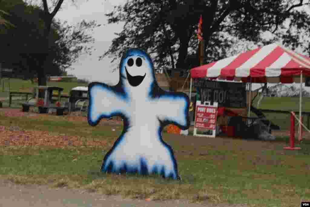 Los fantasmas están a la vuelta de cada esquina a la espera de las celebraciones de Halloween en EE.UU.
