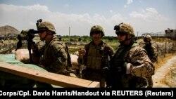 Американські солдати в аеропорту Кабула 28 серпня 2021 р.