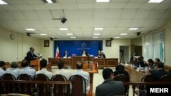 عکس آرشیوی از دادگاه ویژه رسیدگی به جرایم مفسدان و اخلالگران