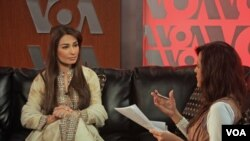Reema Khan with Sana Mirza