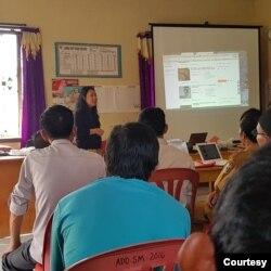 Pelatihan Marketplace Tanihood. (Foto: Firly Savitri)