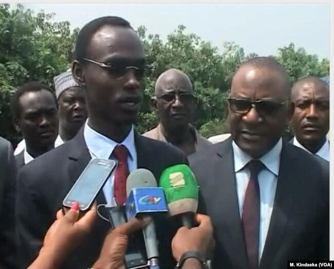 Director general of Chad's customs, Colonel Ousmane Adam Dicki, visited Cameroon, Jan 10, 2018.