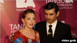 جرمن بالهو و مگدالِنا گوتییِرِز از شهر بوینس آیرس آرژانتین، جایزه اول در رده تانگوی سالن را با خود به خانه بردند ۲۲ اوت ۲۰۱۷