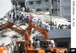 اکتوبر 2005 کے زلزلے میں بھی ڈارٹ ٹیم پاکستان آئی تھی