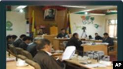Historic Hearing in the Tibetan Parliament བོད་མི་མང་སྤྱི་འཐུས་ལྷན་ཚོགས་ཀྱི་གྲོས་ཚོགས།
