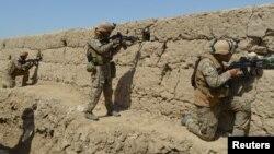 2019年9月1日阿富汗安全部队与塔利班战斗