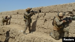 نیروهای امنیتی افغانستان (عکس از آرشیف)
