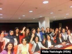 HDP'li kadın milletvekilleri