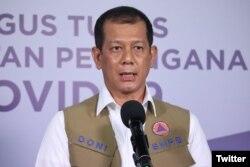 Ketua GTPPC19 atau Gugus Tugas Nasional Doni Monardo. (Foto: Twitter/@BNPB_Indonesia)
