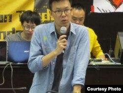 反两岸服贸协议学生领袖林飞帆(资料照片)