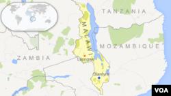 Peta lokasi Malawi.