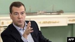 Президент Дмитро Медведєв