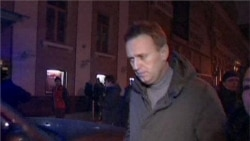 Video of Russian opposition leader Alexei Navalny