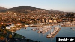 Cảng Hobart, tiểu bang Tasmania ở Australia.