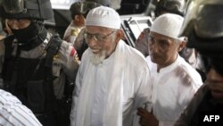 Giáo sĩ Abu Bakar Bashir được giải tới tòa án