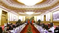 中國和非洲領導人在北京舉行會議,討論加強經濟關係問題