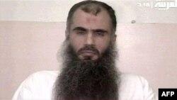 سرويس زندان بريتانيا اين تصوير بدون تاريخ از ابوقتاده را منتشر کرده است