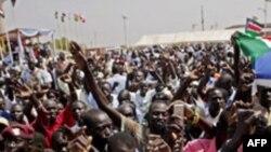 Hartum'da Polis Öğrencilerle Çatıştı