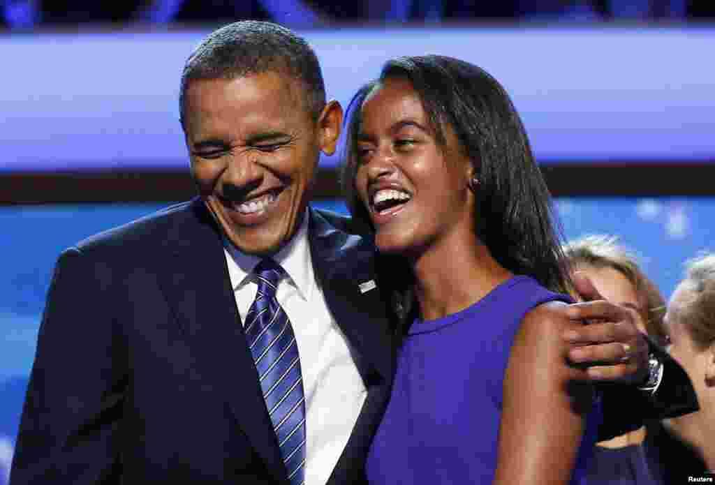 Prezident Obama, qizi Maliya