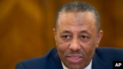 Perdana Menteri Libya Abdullah al-Thinni.