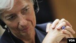 La ministra francesa, Christine Lagarde, sigue siendo la principal candidata al FMI.