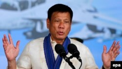President of the Philippines Rodrigo Duterte releases a list of more than 150 judges, mayors, lawmakers and military personnel he says are linked to the illicit drug trade.