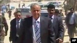 也門副總統哈迪(資料圖片)