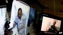 အက်ဥ္းက်ခံ Liu Xiaobo က်န္းမာေရးအကူအညီေပးဖို႔ တရုတ္ဖိတ္ေခၚ