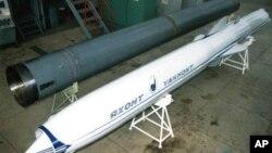 Противокорабельная ракета «Яхонт». Архивное фото.