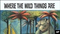 """Karya Sendak yang berjudul """"Where the Wild Things Are"""" memenangkan Medali Caldecott yang bergengsi tahun 1964 (photo, 8/5/2012)."""
