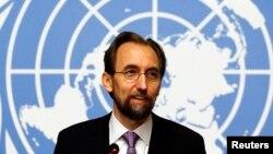 ကုလသမဂၢ လူ႔အခြင့္အေရး မဟာမင္းႀကီး Zeid Ra'ad Al Hussein