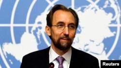 Ketua Komisi Tinggi PBB urusan HAM, Zeid Raad Al Hussein (foto: dok).