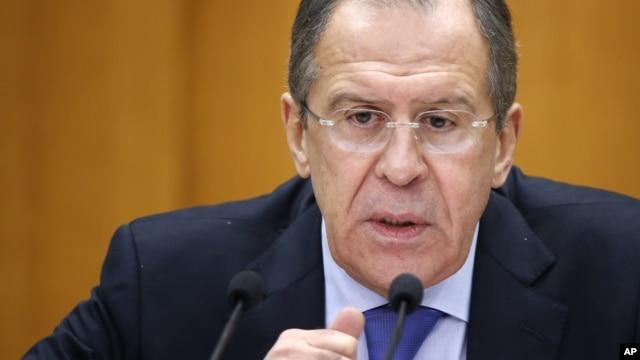 세르게이 라브로프 러시아 외무장관. (자료사진)
