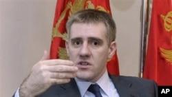 Igor Lukšić, ministar spoljnih poslova Crne Gore
