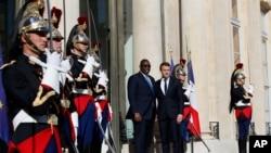 En images : visite de Macky Sall en France