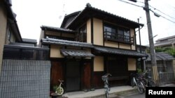"The traditional Kyoto ""machiya"" townhouse belonging to Sae Cardonnel and her French husband Sylvain, which was restored with a specialized loan from a Kyoto Shinkin Bank, is pictured in Kyoto, Japan, June 26, 2016."